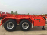 de 45FT do recipiente 2axle reboque esqueletal Semi