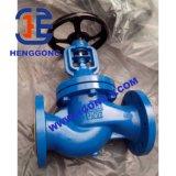 API / DIN brida de acero inoxidable / válvula de globo Wcb