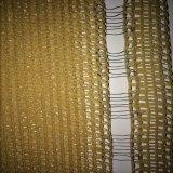 rete di plastica di segretezza beige 320g per i cortili esterni, giardini