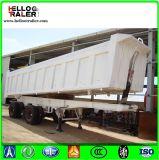 Semi suspensão mecânica dos reboques da descarga para o transporte dos bens