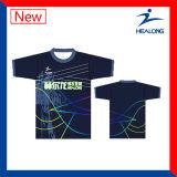 Healongの熱い販売によって昇華させる印刷のポロシャツ