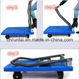 中国4の車輪のFoldableプラットホーム手Trollry/手トラック
