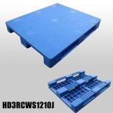 pálete plástica personalizada 1200X1000X150mm do armazenamento do HDPE Dampproof da grade para o armazém