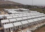 Edifício pré-fabricado modular da construção de aço