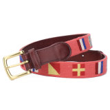 Cinto de Needlepoint de moda 100% Handstitch Needlepoint Belt (SR-131246)
