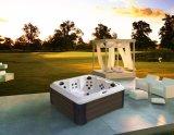 최고 호화로운 과학적인 디자인 옥외 소용돌이 온천장 수력 전기 안마 온수 욕조 (M-3394)