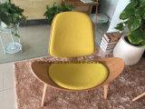 직물 실내 장식품 디자이너 복사 Wegner 목제 베니어 쉘 의자