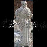 Statua di pietra di marmo Ms-291 del calcio dell'oggetto d'antiquariato della statua del granito