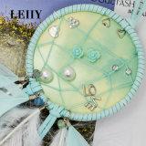 中心愛花の模倣真珠のスタッドのイヤリングは女性のためにセットした