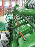 Generador del gas del biogás con el motor de turbina conveniente para la granja y la fábrica