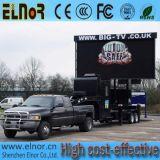 옥외 P10 풀 컬러 이동할 수 있는 트럭 발광 다이오드 표시 위원회
