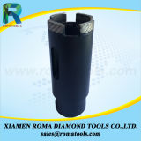 花こう岩のための保護セグメントのRomatoolsのダイヤモンドの穿孔機ビット