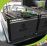 展覧会の停止のデザインによって使用される生む木枠のブタのケージ装置