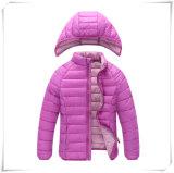 Вниз куртка зимы куртки проложенная хлопком с клобуком наиболее поздно фасонирует голубым людям пальто 608 куртки зимы