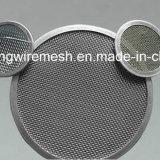 Спеченный нержавеющей сталью фильтр диска ячеистой сети