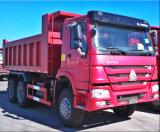 Descarregador, Tipper, caminhão resistente de HOWO 6X4, caminhão de tipper, caminhão do camião