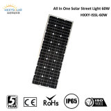 6W-80W Outdoor Integrated Solar 정원 Lamp LED Solar Street Light