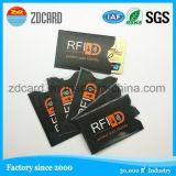 카드 홀더 소매를 막는 매력적인 알루미늄 호일 종이 RFID