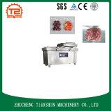 Máquina de embalaje automática de vacío de alimentos de doble cámara para carnes, procesamiento de productos acuáticos Dz-500