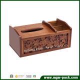 2016 neues Design Multi-Function Leather oder Wooden Tissue Box