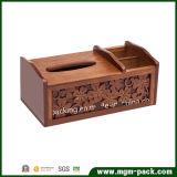 Cuero de múltiples funciones del nuevo diseño 2016 o caja de madera del tejido