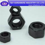 Noix Hex noire du prix usine DIN934