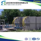 20tpd国内下水の廃水の処理場は、タラ、BODを取除く