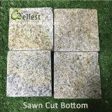 Cubo naturale beige del granito di spaccatura G682 che pavimenta per la strada privata/giardino/patio