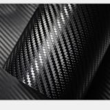 Auto Car Wrapping Vinyl Film 3D Carbon Fiber