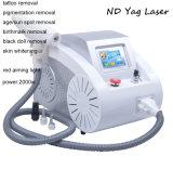 Q-Переключатель удаления YAG пигментацией машины удаления Tattoo лазера