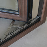 Tissu pour rideaux en aluminium de profil d'interruption thermique enduite de poudre de la qualité Kz026