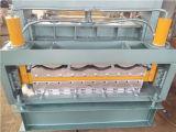 Double la tuile glacée par paquet classique et l'acier ridé de couleur laminent à froid former la machine