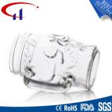 кружка пива ясности формы черепа 380ml стеклянная (CHM8028)