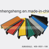 Scala delle mattonelle della porcellana che arrotonda la punta per la lega di marmo dell'Punto-Alluminio della scala