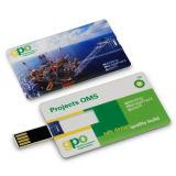 Usb-Blitz-Laufwerk-Karte Soem-Firmenzeichen-grelle Karte USB-Speicher Stock-grelle Platte USB-greller Daumen-Laufwerk Pendrives USB 2.0
