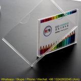 Kundenspezifischer hochwertiger freier Acrylinformations-Kasten