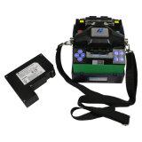 Encoladora de fibra óptica certificada CE/ISO de la fusión de la alta calidad
