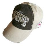 Gorra de béisbol lavada aduana con Niza la insignia Gjwd1735
