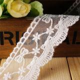 女の子の衣服のための高品質の低価格の網の刺繍のレース