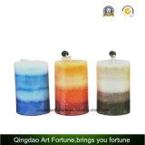 Aroma gelegte handgemachte Kerze für Dekoration-Hersteller