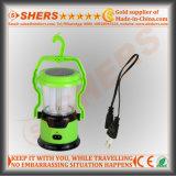 1W懐中電燈が付いている携帯用太陽8つのLEDライト、USB (SH-1972)