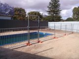 Temporary&#160 galvanizado; Pool  Cerca