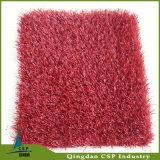 Rolo artificial colorido da grama para a paisagem