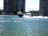barche di velocità della vetroresina di 27FT con il motore esterno gemellare