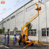 Quatre roues Articulated Boom Lift