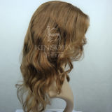 Pelucas superiores del pelo humano de la Virgen el 100% del grado para las mujeres (Kinsofa 240155)