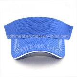 Шлем 100% забрала Sun гольфа ткани полиэфира Breathable (TRNV096)