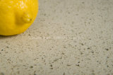 Partie supérieure du comptoir en cristal jaunes décoratives de quartz