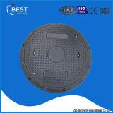 Coperchio di botola di plastica dell'HDPE con la serratura della vite