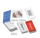 Vidros relativos à promoção do ABS que vestem a caixa